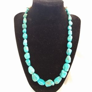 Jay King Iron Mountain Turquoise Nugget Necklace